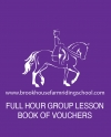 1 Hour Group Lesson Book of Vouchers